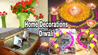 By SIMUL PANDEY · #DiwaliDecoration Ideas Home Entrance / Simple Easy DIY  Ideas For Diwali Home Decoration Tips