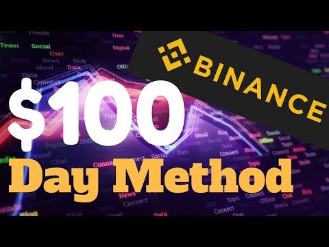 $100 A Day Trading On Binance - Cryptocurrency Trading For Beginners
