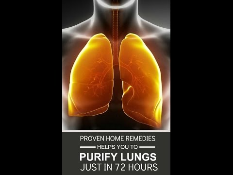 Best home remedies to detox your lungs