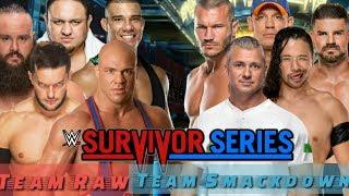 WWE SURVIVOR SERIES 2017-FINAL CONFIRMED PREDICTIONS