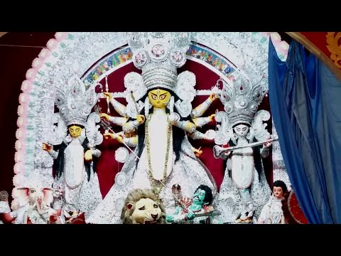 Traditional Bagbazar Durga Puja 2015 on Saptami morning