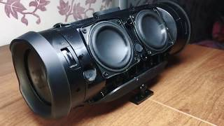 JBL Charge 3 - DEEP BASS!!! DSP MODE ON [2017]