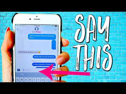 5 Ways to Keep a GUY HOOKED Over TEXT! Real EXAMPLES for Texting with HIM| Ask Kimberly
