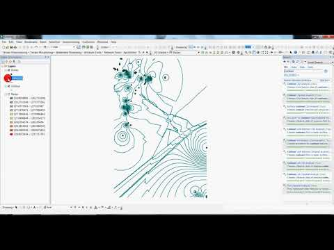 Creating Contours in ArcGIS 10.1