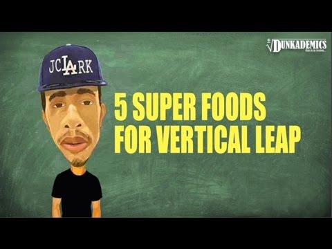 5 Super Foods For Vertical Leap