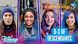 Descendants 3 | D to S Of Descendants! 💜 | Disney Channel UK