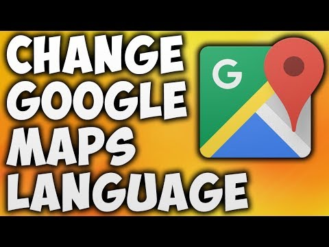How To Change Google Maps Language - The Easiest Way To Change Language In Google Map