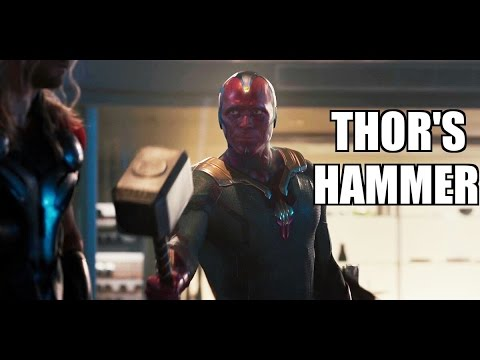 10 Characters who've lifted Thor's Hammer