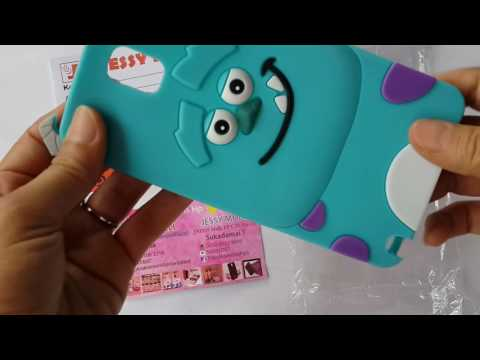 Casing Hp Lucu, Silicone 3D kartun karakter Sulley, Case Hp Sulley, Soft Case Sulley