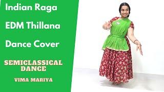 EDM Thillana Dance Cover 1