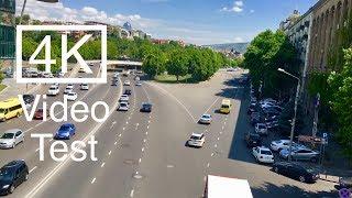 4K Video Test In Tbilisi / 4კ ვიდეო ტესტი, თბილისი