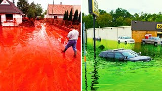 16 Strange Rains Happened Once on Earth
