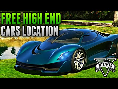 GTA 5 Rare Cars - Fully Customized HIGH END Car Location! (GTA 5 Secret Cars Location)