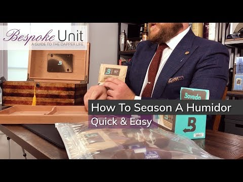 How To Quick & Easily Season A New Wooden Humidor: Best Method