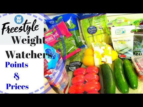 ALDI GROCERY HAUL ~ Weight Watchers Free Style w/Points and Prices