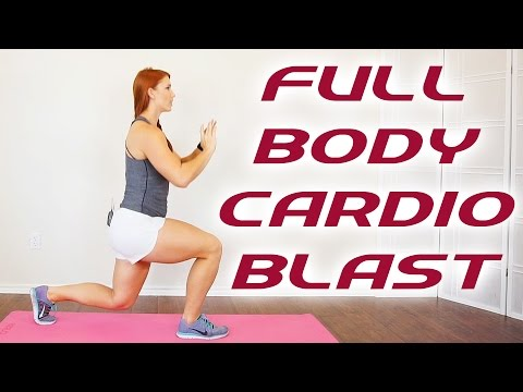 20 Minute Total Body Workout, Cardio Fat Burning Routine, Get Fit At Home with Frances, Beginners