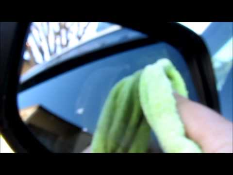 Remove Waterspot on car windows / mirror