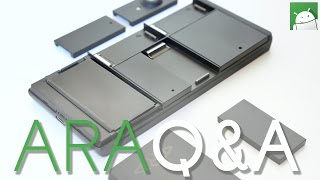 Exclusive: Project ARA hands-on Q&A!