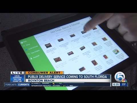 Publix grocery delivery service launching Aug. 18