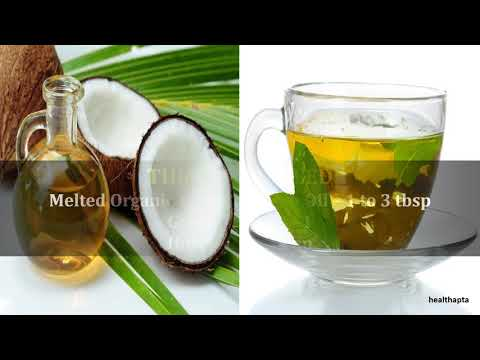 Coconut Oil and Green Tea to Lose Weight