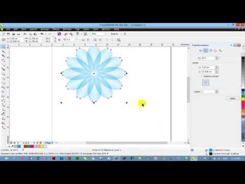 How to use Transparency Tool on CoreDRAW X6