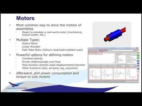 SOLIDWORKS Simulation - Motion 101