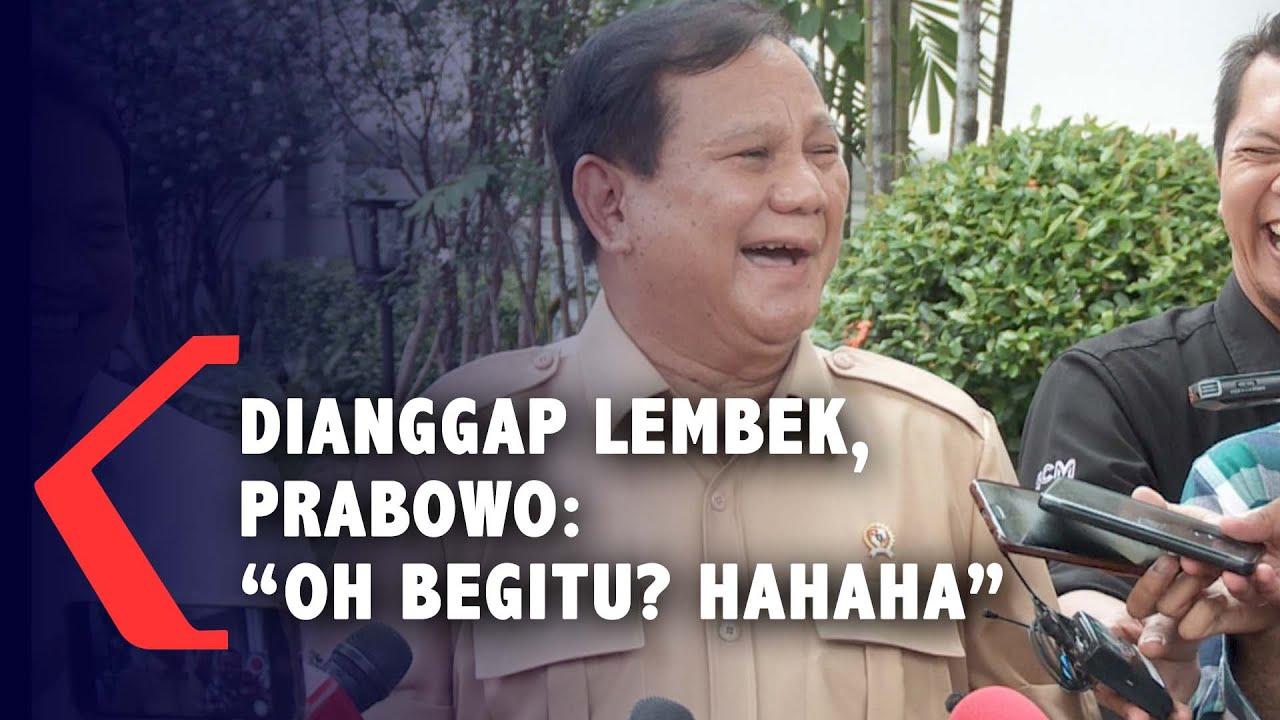 "Dianggap Lembek Soal Natuna, Prabowo: ""Oh Begitu? Hahaha"""