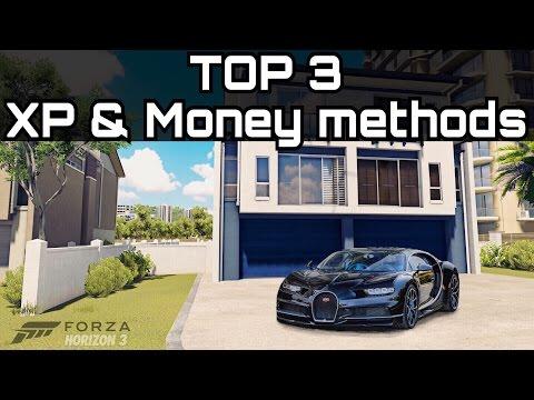 TOP 3 BEST ways to make Money & XP! | Forza Horizon 3