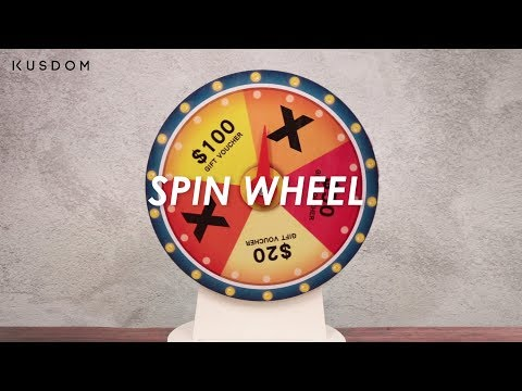 Spin Wheel - Design Your Own