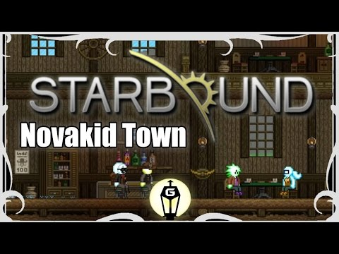 Novakid Villages | Starbound Nightly Explorations