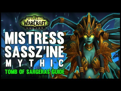 Mistress Sassz'ine Mythic Guide - FATBOSS