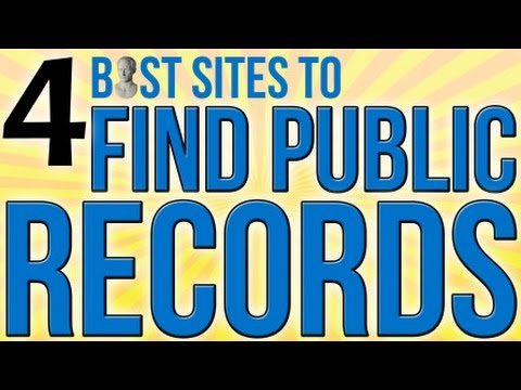4 Best Sites To Find Public Records