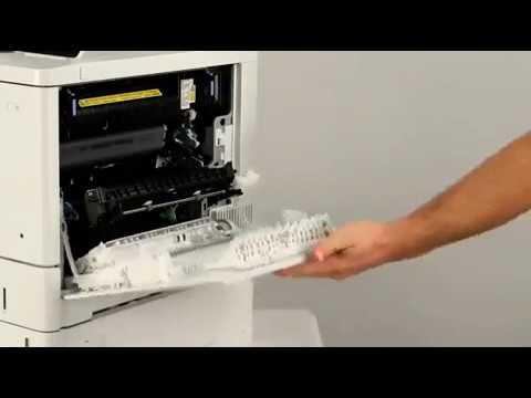 HP Color LaserJet Enterprise M552, M553, M577   Remoção e substituição do Fusor