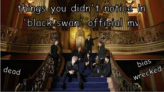 things you didn't notice in BTS 'Black Swan' official MV