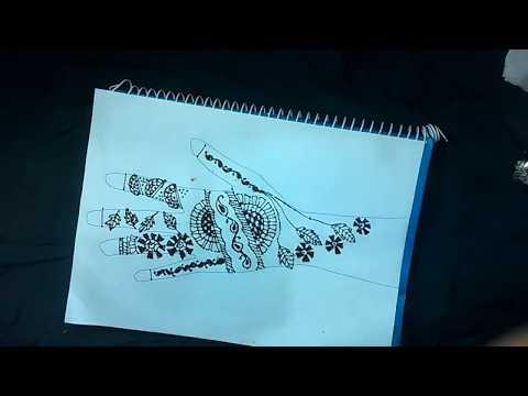 Henna Design 4