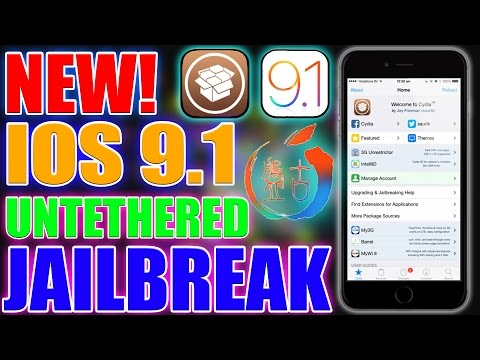 How To Jailbreak iOS 9.1 Untethered PanGu for iPhone, iPad & iPod Touch!
