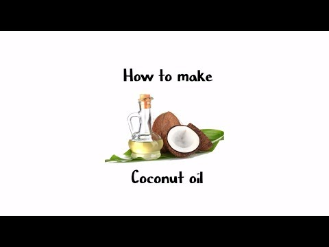 How to make coconut oil - The pure vedic way