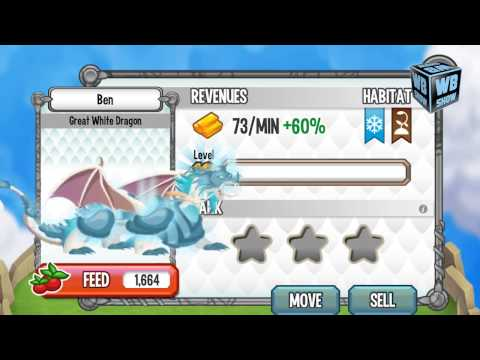 How to breed Great White Dragon Dragon 100% Real! Dragon City Mobile!