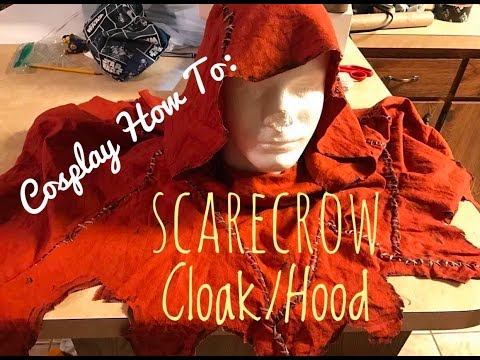 How To: Scarecrow Cosplay Timelapse