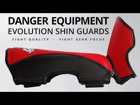 Danger Evolution Shin Guards