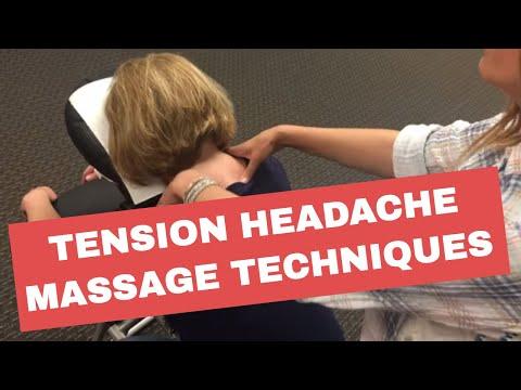 Chair Massage: Techniques for Tension Headache Relief