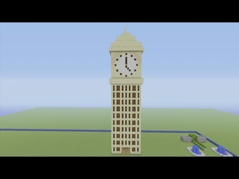 Minecraft Xbox 360 Edition How To Build: Big Ben