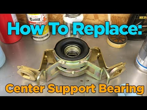 DIY: Toyota 4x4 Drive Shaft Center Support Bearing Replacement