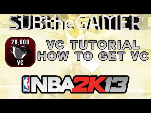 NBA 2k13 - THE BEST WAY How To Get VC | Getting 50k VC Per Week | Not Patched | EPIC VC Tutorial