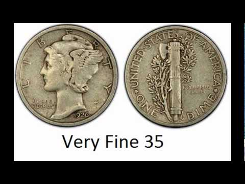 How to grade Mercury Dimes by Coin Appraisal