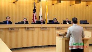 San Jose: Nghị Quyết Trừng Phạt Cộng Sản VN Vi Phạm Nhân Quyền.