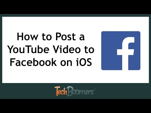 How to Post a YouTube Video to Facebook on iOS
