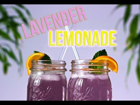 How to make: LAVENDER LEMONADE