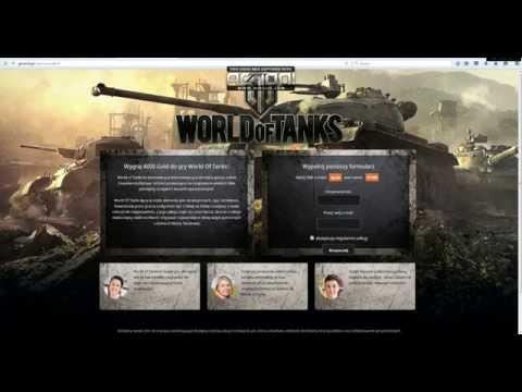 Wygraj 4000 Gold do gry World Of Tanks!