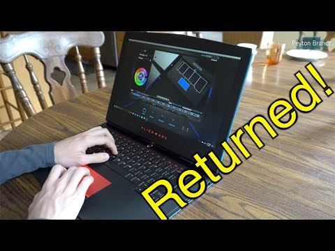 Why I Returned My Alienware 15